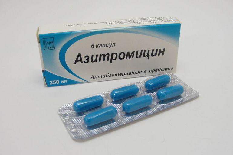 Описание препарата Азитромицин