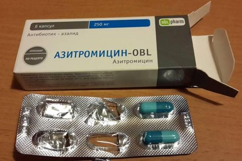 Как принимать таблетки Азитромицин