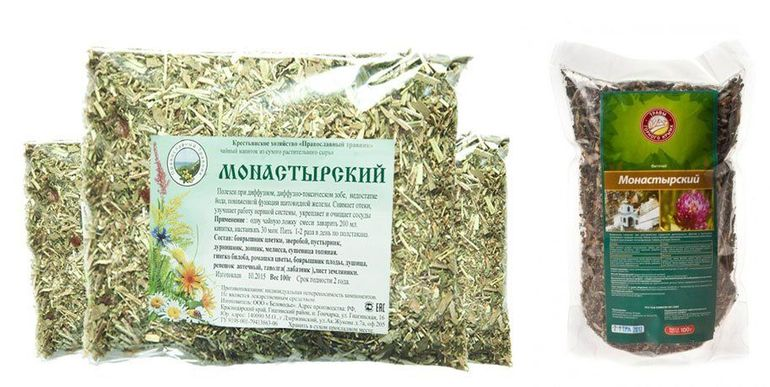 Рецепт монастырского чая от простатита