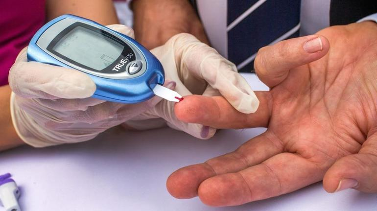 Лабораторные данные сахарного диабета у мужчин