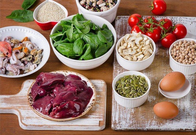 Продукты для повышения уровня гемоглобина