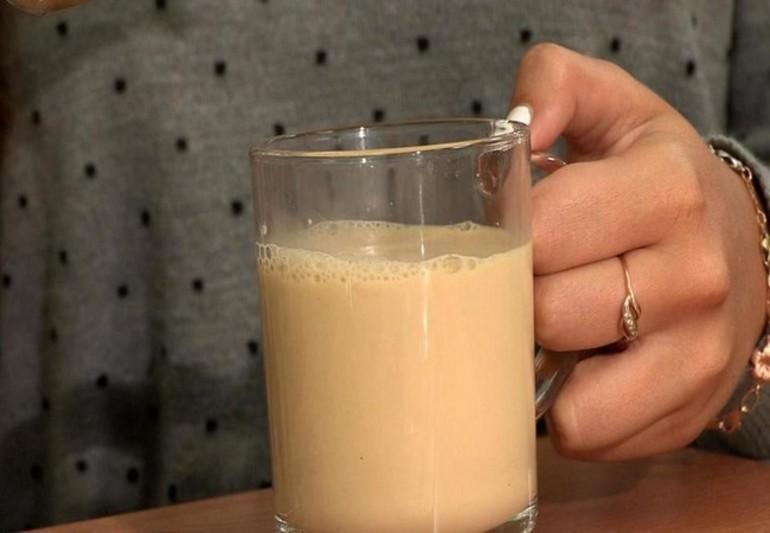 Морковный отвар с молоком