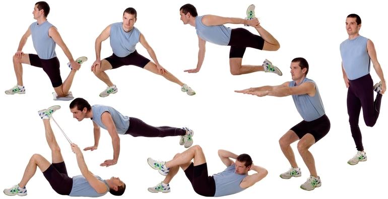 Комплекс упражнений для мужчин