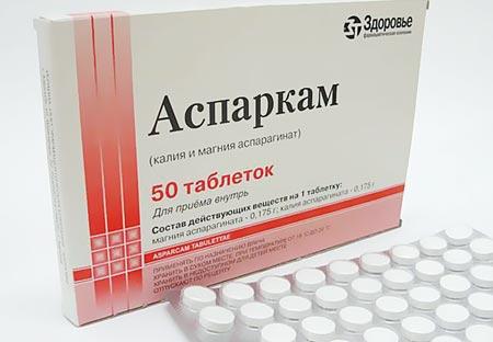 Аспаркам инструкция по применению, цена отзывы аналоги таблетки