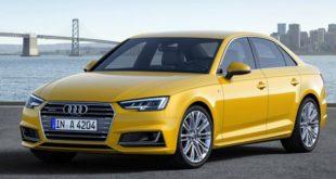 Серия Audi A4 5 поколение - модель 2016 - 2017 года