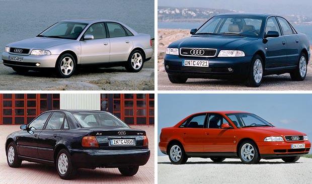 автомобиль Audi A4 первого поколения 1994 год