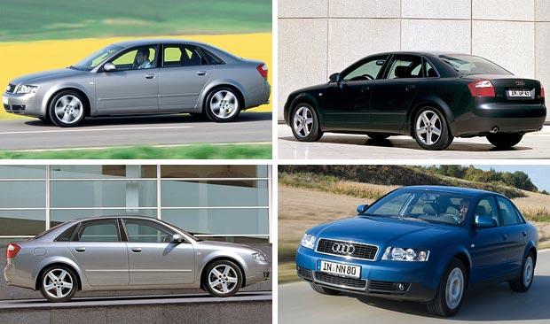 автомобиль Audi A4 второго поколения 2000 год
