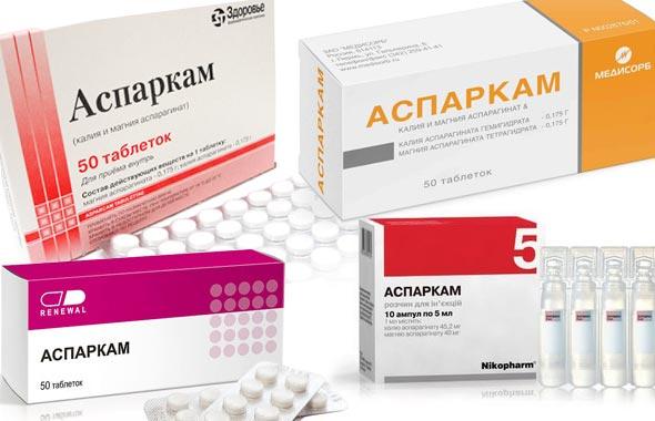 Аспаркам инструкция по применению таблетки детям.