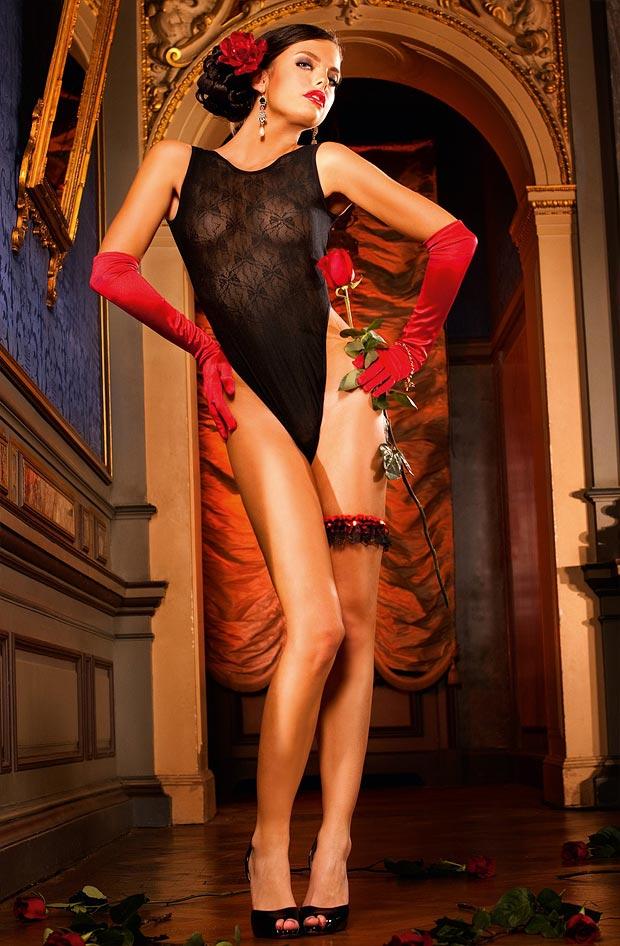 Прозрачный эротический комплект нижнего белья на стройной девушке, модный бюстгальтер