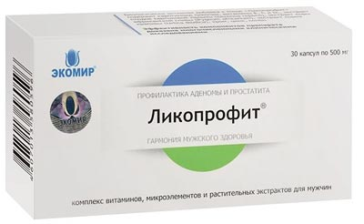 Ликопрофит упаковка 30 капсул