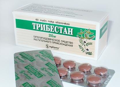 Упаковка таблеток Трибестан