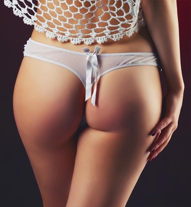 Нижнее белье у девушки, чарующие прозрачные бесшовные трусы инканто
