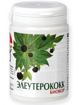 Упаковка таблеток Элеутерококк